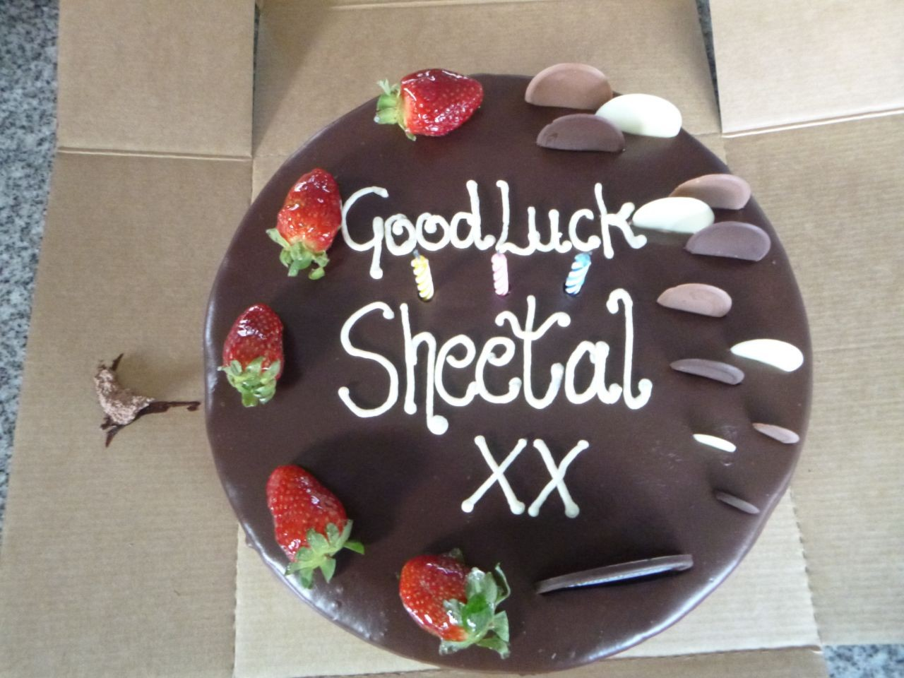 Sheetal's Farewell