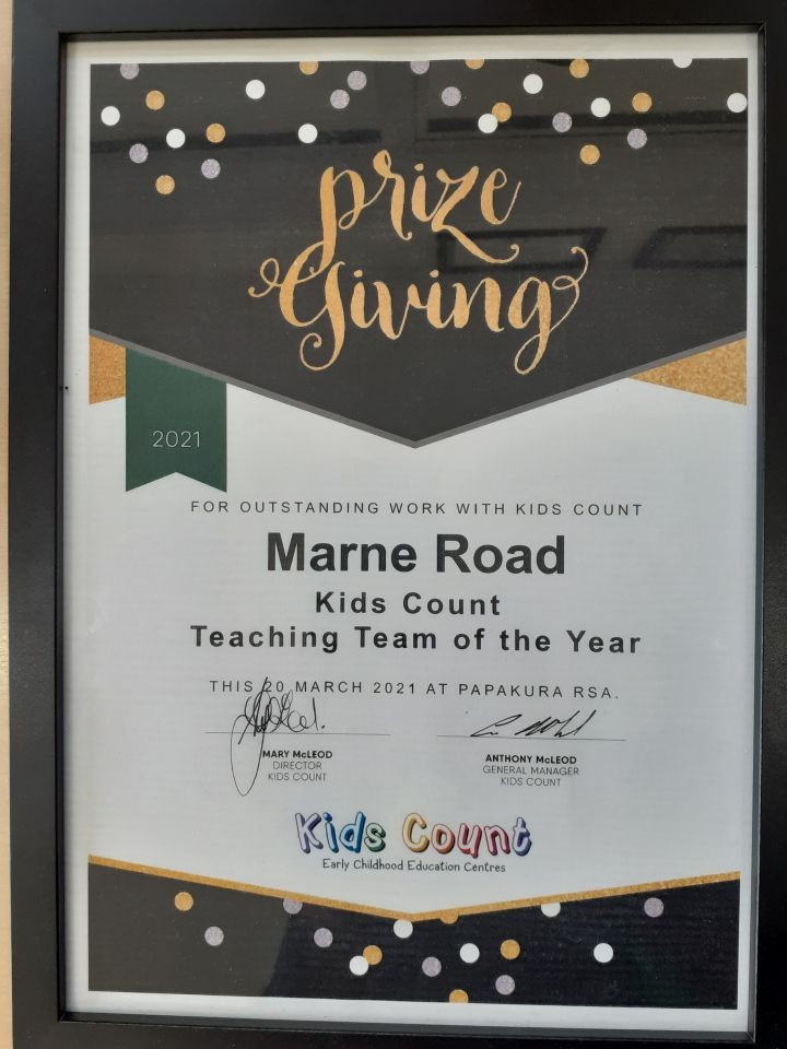 Well done Marne Road!
